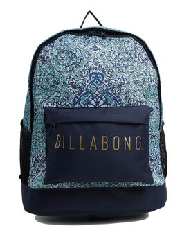 BLUE WOMENS ACCESSORIES BILLABONG BAGS + BACKPACKS - BB-6604003-BLU