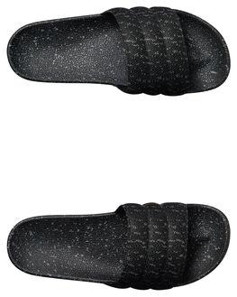 BLACK MENS FOOTWEAR RUSTY SLIDES - FOM0336BLK