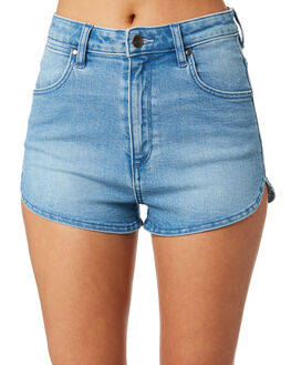 PRESENCE BLUE WOMENS CLOTHING WRANGLER SHORTS - W-951460-LQ9
