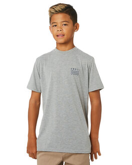 GREY MARLE KIDS BOYS SWELL TOPS - S3164001GRYMA