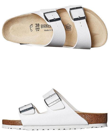 c476e8419 Birkenstock Womens Regular Arizona Sandal - White | SurfStitch
