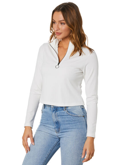WHISPER WHITE OUTLET WOMENS RUSTY TEES - FSL0571-WWH