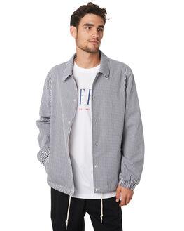 INDIGO WHITE MENS CLOTHING HUFFER JACKETS - MJA94S5201INWHT