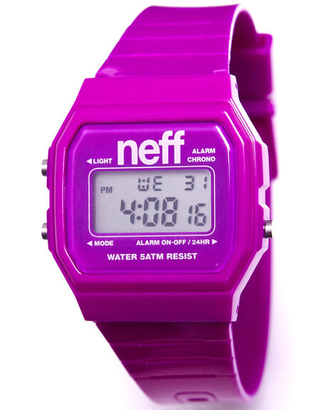 PURPLE MENS ACCESSORIES NEFF WATCHES - NF0204PUR