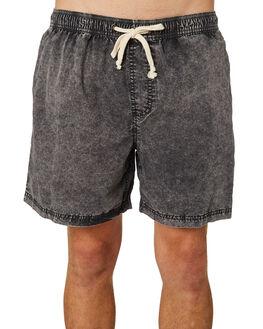 BLACK ACID MENS CLOTHING INSIGHT SHORTS - 1000076165BLKAC