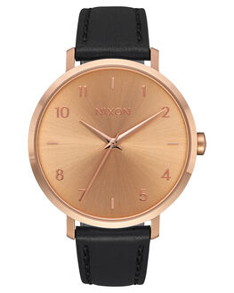 ROSE GOLD BLACK UNISEX ADULTS NIXON WATCHES - A10911098