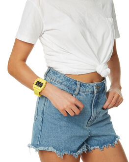 YELLOW RESIN WOMENS ACCESSORIES NIXON WATCHES - A11042552