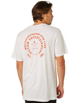 WHITE MENS CLOTHING VOLCOM TEES - A5041872WHT