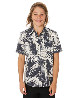 WHITE FLASH KIDS BOYS VOLCOM TOPS - C0441903WHF
