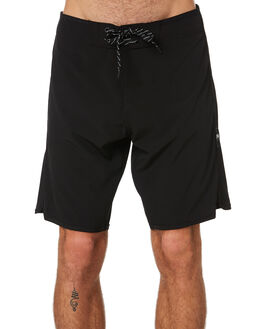 BLACK MENS CLOTHING LIIVE VISION BOARDSHORTS - LBS060BLK