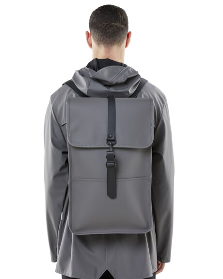 CHARCOAL MENS ACCESSORIES RAINS BAGS + BACKPACKS - RNS1220CHAR