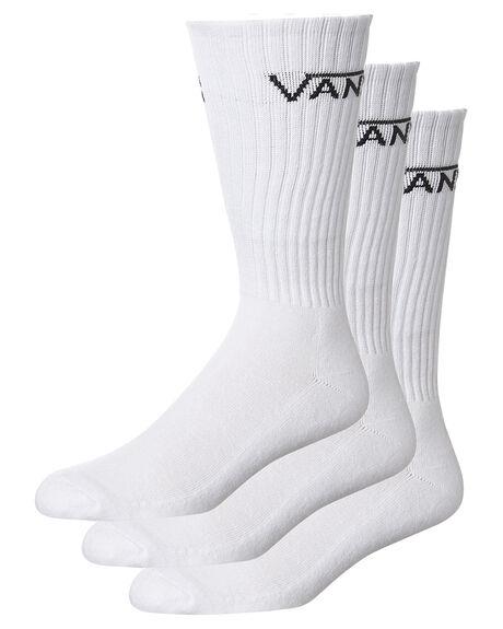 WHITE MENS CLOTHING VANS SOCKS + UNDERWEAR - VN-0XSEWHTWHT