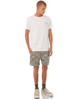 WHITE MENS CLOTHING RHYTHM TEES - DEC17M-SS07WHT