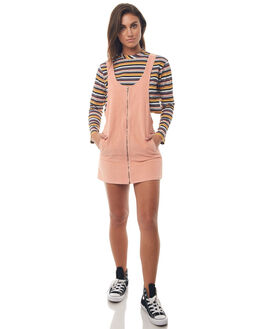 PINK WOMENS CLOTHING AFENDS PLAYSUITS + OVERALLS - 51-03-126PINK