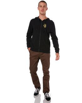 BLACK MENS CLOTHING HURLEY JACKETS - 894972010