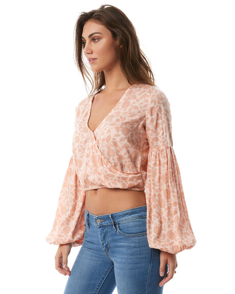 TANLINE WOMENS CLOTHING BILLABONG FASHION TOPS - 6585101TANL