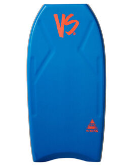 ROYAL BLUE FLURO RED BOARDSPORTS SURF VS BODYBOARDS BOARDS - V19VISION42RBRBLUR
