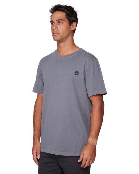 SMOKE MENS CLOTHING RVCA TEES - RV-R107059-SMK