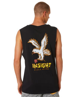 BLACK MENS CLOTHING INSIGHT SINGLETS - 1000061825BLK