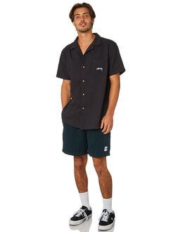 BOTTLE BLACK MENS CLOTHING STUSSY SHORTS - ST095612BTBLK