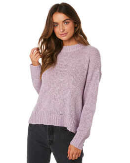 SOFT PURPLE WOMENS CLOTHING ALL ABOUT EVE KNITS + CARDIGANS - 6433042PURP