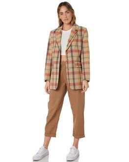 MAIZE WOMENS CLOTHING BRIXTON JACKETS - 03235-MAIZE