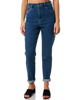 DAZED BLUE WOMENS CLOTHING WRANGLER JEANS - W-951494-S11