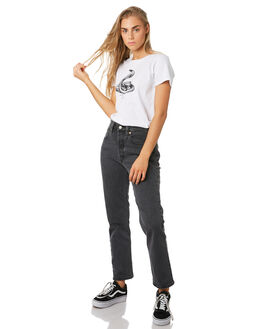 WHITE WOMENS CLOTHING THRILLS TEES - WSMU9-136AWHT