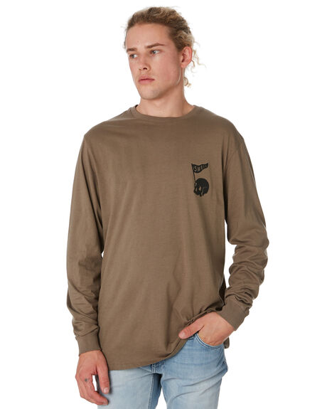 WASHED OLIVE MENS CLOTHING SWELL TEES - S52011103WSHOL