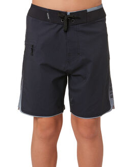 WASHED BLACK KIDS BOYS RIP CURL BOARDSHORTS - KBOVM28264