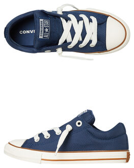 NAVY GUM KIDS BOYS CONVERSE SNEAKERS - 663593NGUM