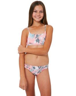 SUNSET PINK KIDS GIRLS BILLABONG SWIMWEAR - 5581558PNK