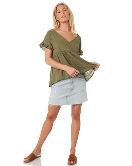 TURTLE WOMENS CLOTHING SASS FASHION TOPS - 13182TWSSTUR