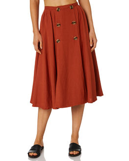 PAPRIKA OUTLET WOMENS TIGERLILY SKIRTS - T395285PAP