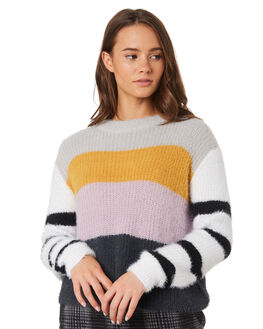 MULTI COLOURED WOMENS CLOTHING ALL ABOUT EVE KNITS + CARDIGANS - 6433044MULT
