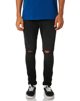 RAVEN DESTROY MENS CLOTHING LEE JEANS - L-606485-LA8RAVD