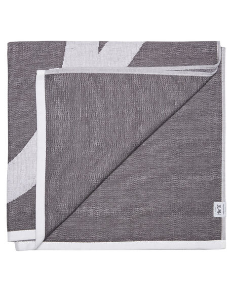 CHARCOAL WOMENS ACCESSORIES MAYDE TOWELS - 19BILCHACHA
