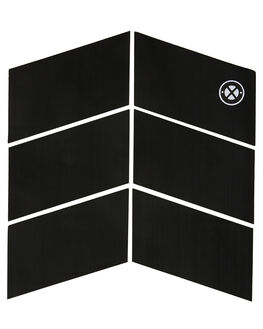 BLACK BOARDSPORTS SURF DREDED TAILPADS - DRPRO-6PCMIFGBLK