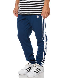 MYSTERY BLUE WHITE MENS CLOTHING ADIDAS ORIGINALS PANTS - BK6756MBLWH