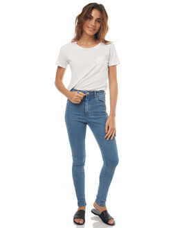 LA BLUES WOMENS CLOTHING A.BRAND JEANS - 70075LAB