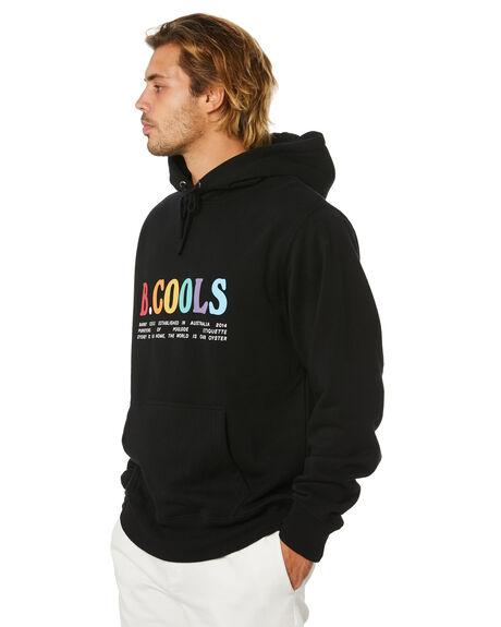 BLACK MENS CLOTHING BARNEY COOLS JUMPERS - 404-Q120BLK