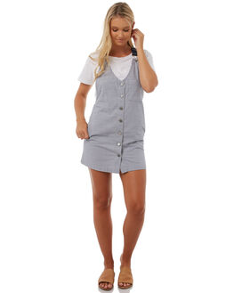 STRIPE WOMENS CLOTHING VOLCOM PLAYSUITS + OVERALLS - B1311802STP