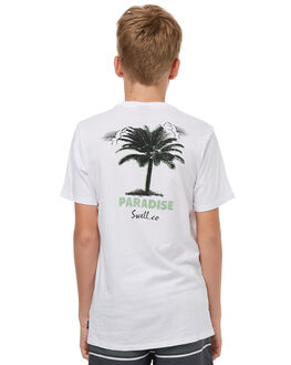 WHITE KIDS BOYS SWELL TOPS - S3183002WHITE
