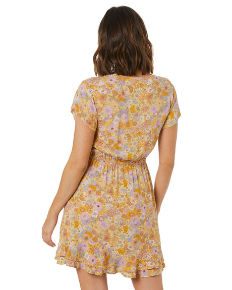 HERMOSA FLORAL WOMENS CLOTHING THE HIDDEN WAY DRESSES - H8222457HFLRL