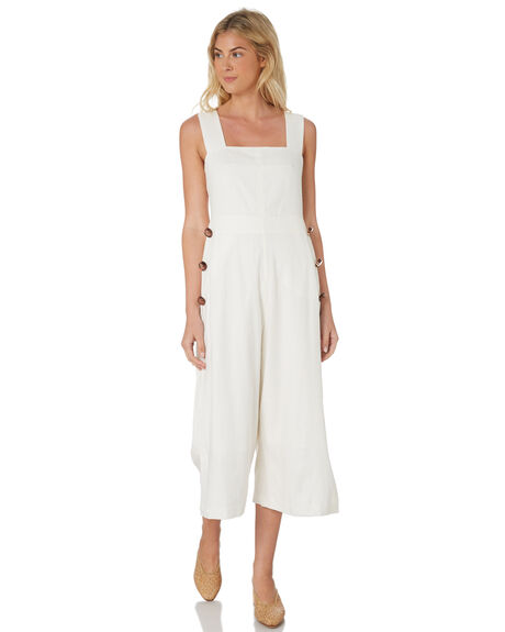 IVORY WOMENS CLOTHING C&M CAMILLA AND MARC PLAYSUITS + OVERALLS - TCMD1534IVO