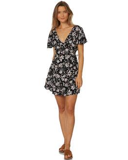 BLACK IVORY WOMENS CLOTHING BAND OF GYPSIES DRESSES - W1835761-2765LPRT