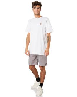 RED NAVY STRIPE MENS CLOTHING DICKIES SHORTS - K4190805RDNV