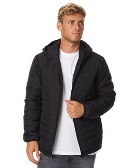 FLINT BLACK MENS CLOTHING ELEMENT JACKETS - 176451FBLK