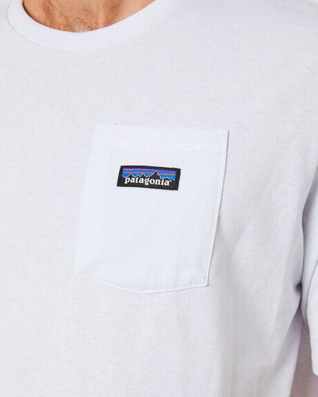 WHITE MENS CLOTHING PATAGONIA TEES - 37406WHI