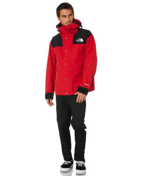 TNF RED MENS CLOTHING THE NORTH FACE JACKETS - NF0A3XEJ682